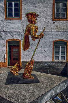 Alcoutim Town Centre Monument Figure by Paul Lucas on 500px