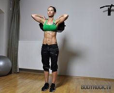 This woman is fierce. #Inspiration. #Workout #Weight_loss #Fitness inspiration