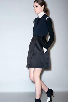 Céline Pre-Fall 2011 Fashion Show - Caroline Brasch Nielsen