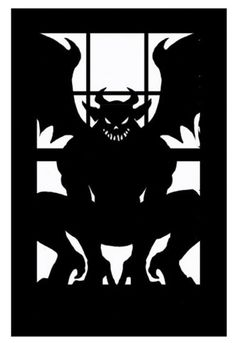 Gargoyles come in many shapes and sizes. Choose your favorite and it can fill any window.