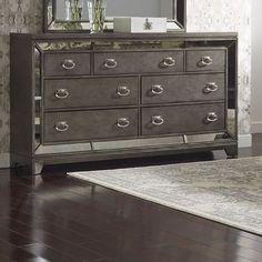 Avalon Furniture Lenox 7 Drawer Dresser