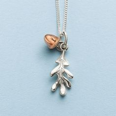 Buy Golden Acorn Pendant from Pia Jewellery