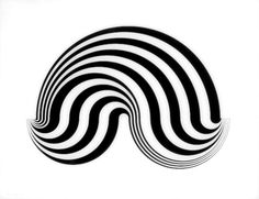 This Iconic Bridget Riley painting is mesmerizing Art Optical, Optical Illusions, Bridget Riley, Concrete Art, Derby Day, Photomontage, Op Art, Artist Art, Great Artists
