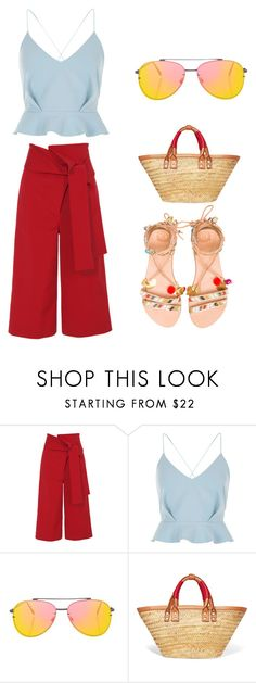 """Untitled #7"" by bh03 ❤ liked on Polyvore featuring TIBI, River Island, Topshop, Balenciaga and Elina Linardaki"