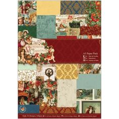 Blitsy | Papermania - Victorian Christmas