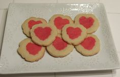 Valentine's Cookies Valentine Cookies, Valentines, Heart Cookies, Baked Goods, About Me Blog, Just For You, Homemade, Desserts, Recipes