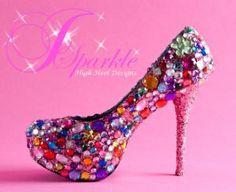 bedazzled heels