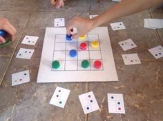 make your own triovision board game