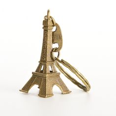 1 PCS Bronze Tone Paris Eiffel Tower Figurine Statue Vintage Alloy Model Decor 5cm //Price: $5.37 & FREE Shipping //     #hashtag2
