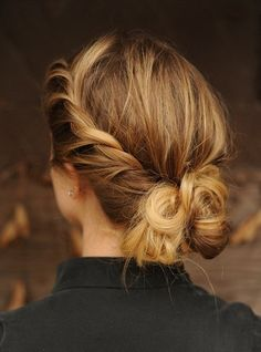 formal messy hairstyle for women New Messy Hair Bun Hairstyles For Women