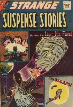 Comic Book Cover For Strange Suspense Stories v1 #34