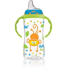 Nuk Jungle Designs Large Learner Cup In Patterns, Boy, Spill-proof, Diaper Bag, Teaching Babies, Baby List, Baby Supplies, Baby Bottles, Toddler Bottles, Baby Feeding, Baby Items, Things To Sell