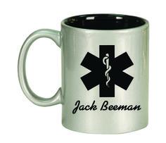 Ceramic Mugs - Round 11oz - EMS Personalized