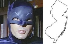 Which means that Bruce Wayne is a Jersey Boy. | Batman Is Officially From NewJersey
