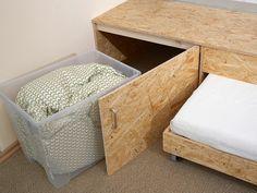 Betten selber bauen podest  Bett im Podest - Kleine Räume nutzen | selbermachen - Das ...