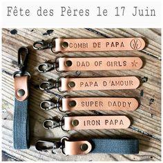 Image of Porte-Clés en cuir personalisé