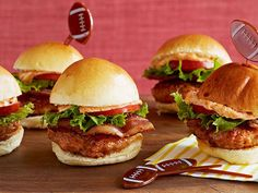 Triple Pork Sliders Recipe : Patrick and Gina Neely : Food Network