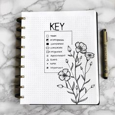 I'm so glad that I found these AMAZING bullet journal keys! I'm so excited to try these GREAT bullet journal key tips and tricks for myself. These bullet journal keys are going to be a real game changer for me! Bullet Journal School, Bullet Journal Inspo, Creating A Bullet Journal, Bullet Journal For Beginners, Bullet Journal Aesthetic, Bullet Journal Notebook, Bullet Journal Ideas Pages, Journal Art, Journal Prompts