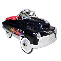 Black Hot Rod Comet Pedal Car from PoshTots