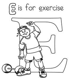 fitness coloring pages,wallpapers,pictures