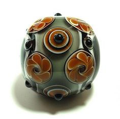Peaceful states bead by Andrea Guarino-Slemmons
