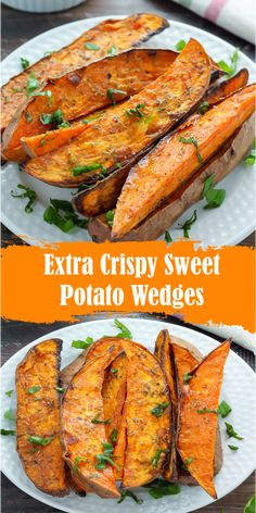 cooking crispy potato wedges extra sweet best easy Extra Crispy Sweet Potato Wedges Best easy cooking Best easy cookingYou can find Sweet potato recipes and more on our website Sweet Potato Wedges Oven, Sweet Potato Fries Healthy, Sweet Potato Recipes Healthy, Potato Wedges Recipe, Grilled Sweet Potatoes, Cooking Sweet Potatoes, Baked Sweet Potato Oven, Sweet Potato Diet, Yam Recipes