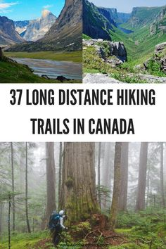 37 Long Distance & Backpacking Trails in Canada - Hike Bike Travel - - Here are 37 long distance and backpacking trails in Canada. There are trails in every province and territory ranging in length from 35 to 1200 kilometers. Backpacking Canada, Backpacking Trails, Canada Travel, Hiking Trails, Thru Hiking, Koh Tao, Hiking Backpack, Travel Backpack, Gliders