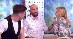 Mortified Magician Screws Up Impales TV Host's Hand On Spike