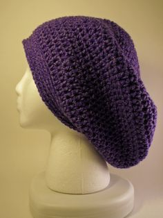 Beach Hat Vegan Friendly Gift for her Striped Loose knit Linen Cotton Beanie White Khaki Summer hat Handmade Boho Hat Slouchy knitted Hat