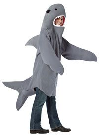 Shark Adult Costume - Funny Costumes