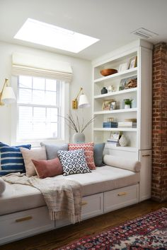 before + after: a cozy family room — rehabitat