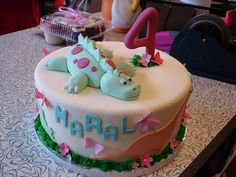 Girl dinosaur party,  abbey i bet you would love this cake