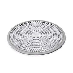 oxo good grips easy clean shower stall drain protector stainless steel silicone