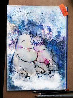 Moomins by Alexander Deboir