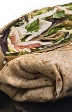 Healthy P90X Recipe - Turkey Wrap!