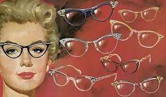Image result for 1950's glasses