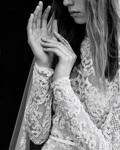 Elie Saab new Bridal Collection Ready to wear and Haute Couture collections - Vogue Portugal Spring 2017 Wedding Dresses, Stunning Wedding Dresses, Bridal Wedding Dresses, Spring Dresses, Bridal Style, Wedding Pics, Lace Wedding, Wedding Dressses, Elie Saab Bridal