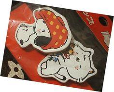 ◆昭和レトロ ファンシー クリップ 犬 猫 女の子向け 新品_画像1