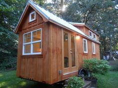 I believe this is the Ynez with a 22' long bed.  Oregon Cottage Company is in Portland, can ya believe it?