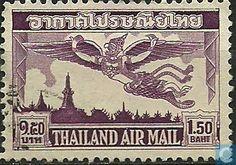 1952 Thailand - Garuda bird
