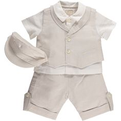 Christening Professional Sale Baby Boy Blue/white Christening Romper-suit-outfit With Celtic Cross By Eva Rose Clothing, Shoes & Accessories
