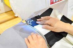 ミシンのプロが教えます。ファスナーをきれいに付ける3つのコツ - 暮らしの豆知識 | tetote-note(テトテノート) Handmade Clothes, Handmade Bags, Diy Clothes, Sewing Hacks, Sewing Crafts, Fashion Background, Fabric Bags, Cool Baby Stuff, Sewing Techniques
