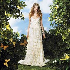 dresses for garden wedding