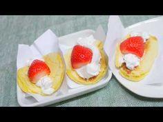 (맛있는 디저트) 딸기 오믈렛빵 만들기/Strawberry omelet dessert sandwich - YouTube