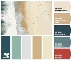 Beachy Color Palette | ... for your San Diego Home Beach Color Palette – The Remodeling Place