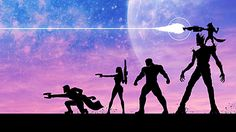 Movie Guardians Of The Galaxy Groot Rocket Raccoon Drax The Destroyer Gamora Peter Quill Wallpaper