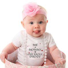So, so cute ❤️❤️ Unique baby onesies at www.latlong.no