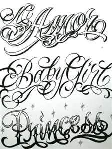 The Name Game By Boog Star Tattoo Sketch Books Flash Sets