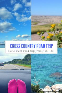 New Years Goal?!  Explore more of the USA! This pin ALL about road tripping from New York to San Francisco will definitely come in handy! Cross country road trip, anyone?!