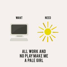 All Work and No Play - Recovering Lazyholic